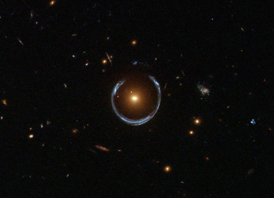 Einstein Rings and Dark Matter