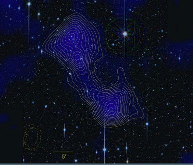 Dark Matter Bridge Discovered
