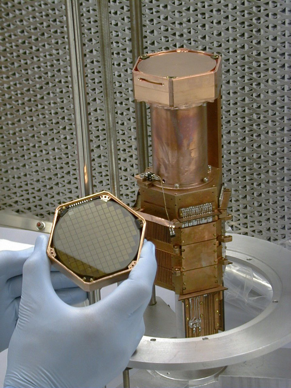 SuperCDMS Collaboration Possible Detection of Dark Matter (1/2)